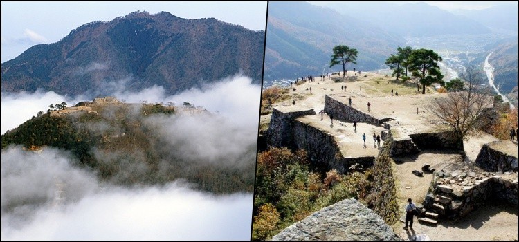 Takeda castle - in the sea of clouds