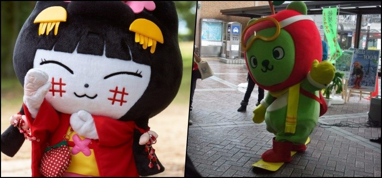 Japanese mascots - curiosities and cuteness