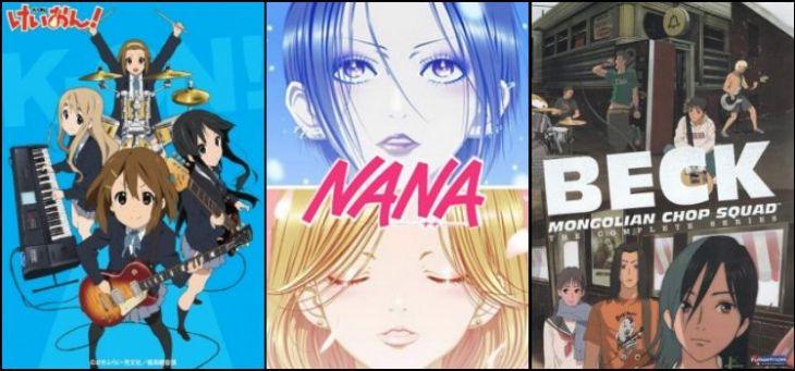 Animes de Música - Lista completa com os melhores