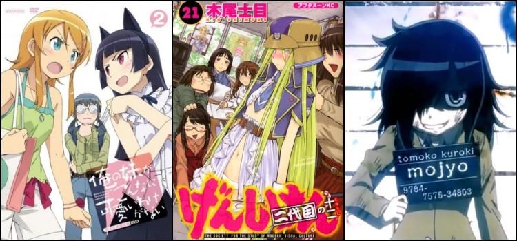 Animes que retratam a vida de um otaku - animes otaku 2