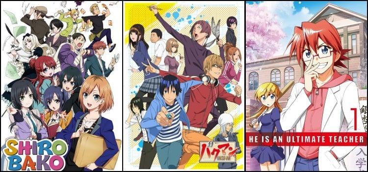 Animes que retratam a vida de um otaku - animesotakus 4
