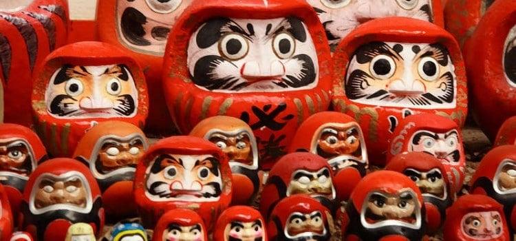 Daruma - Curiosidades sobre o boneco da Sorte Japonês - daruma 1