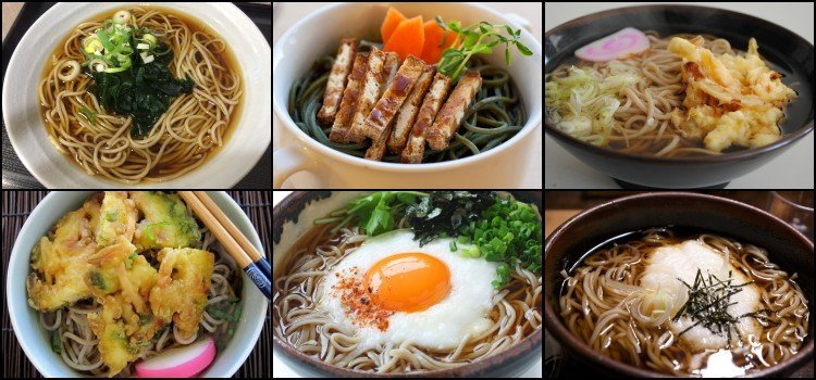 As 100 comidas japonesas mais populares do Japão - sobas 5