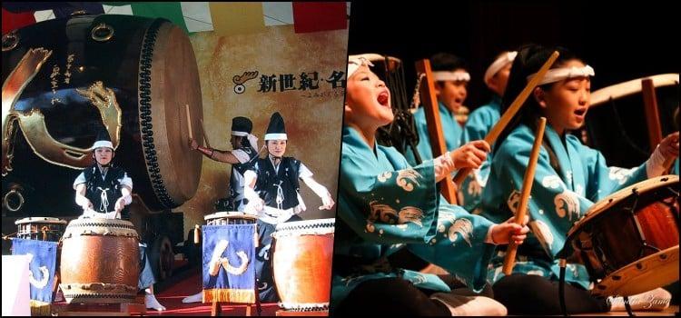 Taiko - Tambor - Instrumentos japoneses de percussão 2