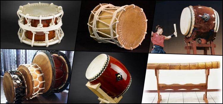 Taiko - Tambor - Instrumentos japoneses de percussão - taikos 4