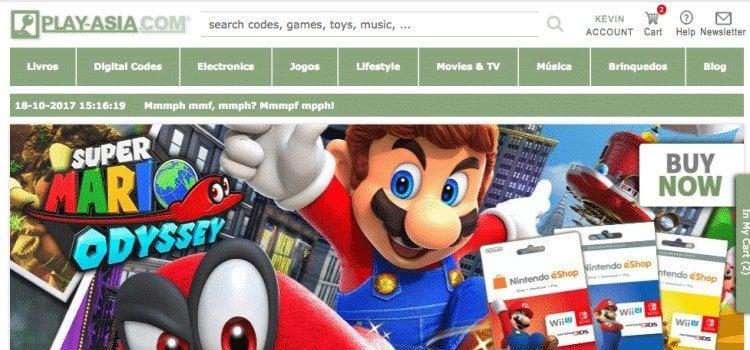 Como comprar pela Play-Asia - Jogos e produtos de Animes - play asia 2