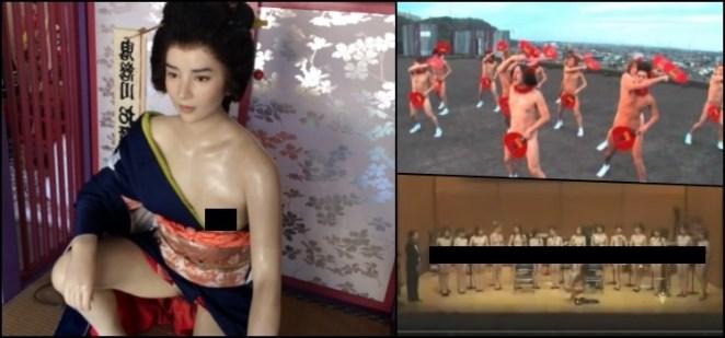Artistas japoneses mais polêmicos que a performance nu