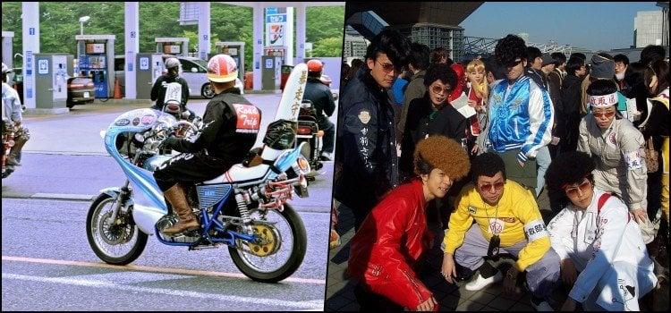 Các băng đảng và tội phạm Nhật Bản - yankii, bosozoku và sukeban
