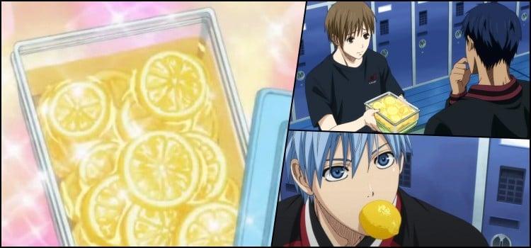 Receita de Limão ao mel de Kuroko no Basket!