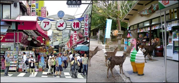 Exemplos de honestidade e segurança nas lojas do japão