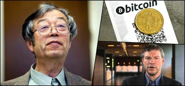A Bitcoin készítője, Satoshi Nakamoto)