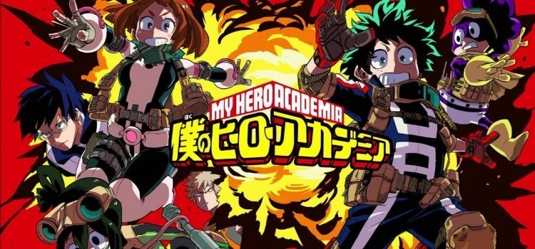 The best school anime + TOP 200 list - Boku no Hero Academia 18