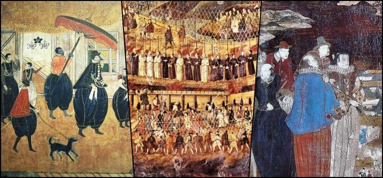 buôn bán nô lệ của Nhật Bản bởi người Bồ Đào Nha