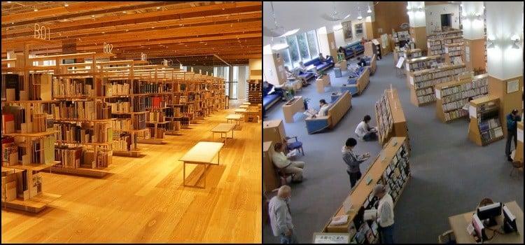 Conheça a maravilhosa biblioteca municipal do Japão