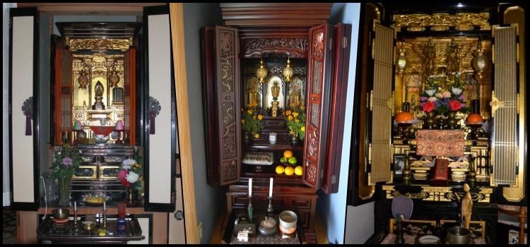 Butsudan - o santuário budista