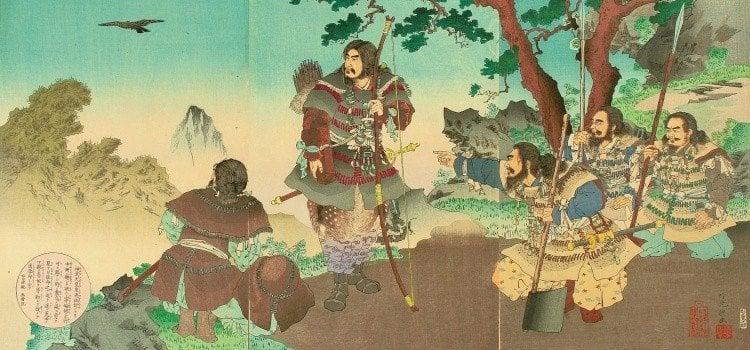 Yasakani no Magatama - A joia sagrado do Japão - jimmu 2