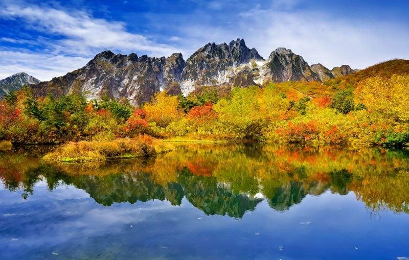 Lista de Parques Nacionais do Japão - Alpes japoneses 1