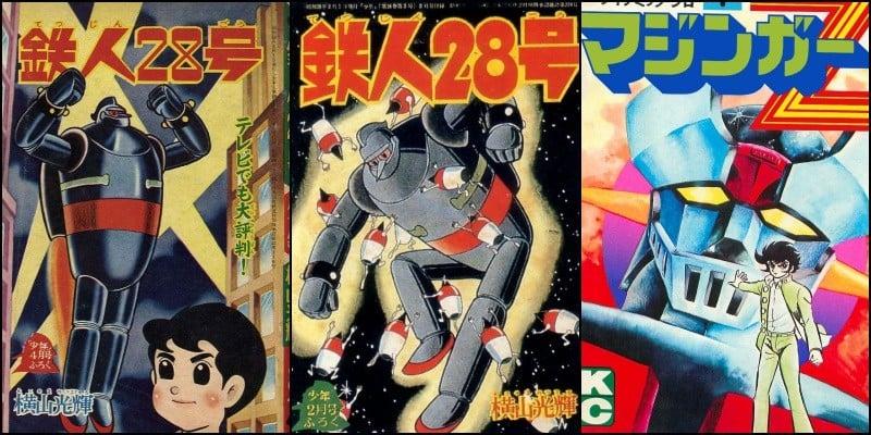 Meka - Animes de Robôs Gigantes - Origem e Curiosidades - mecha robos 3