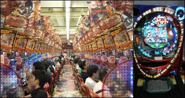 Pachinko - Máquinas de aposta no Japão - pachinko1 2