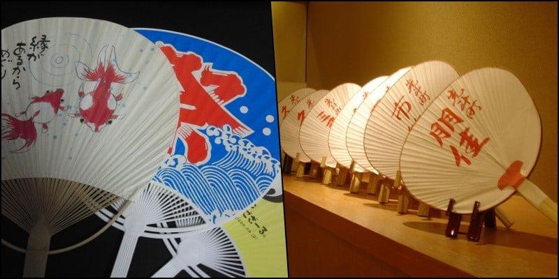 Ougi, sensu e Uchiwa - Os Leques Japoneses