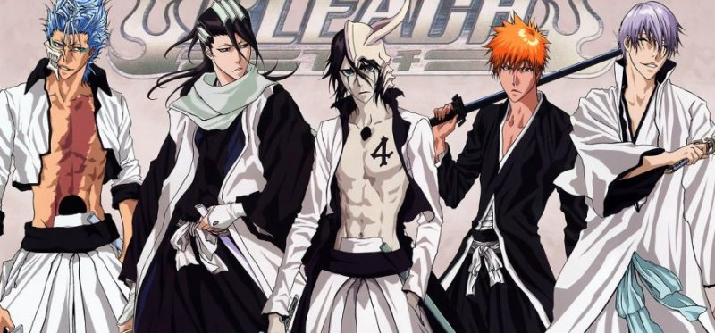 Naruto-like anime - ninjas and powers