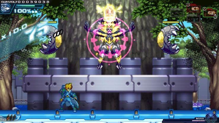 Azure Striker Gunvolt - Um jogo no estilo Megaman de respeito! 3
