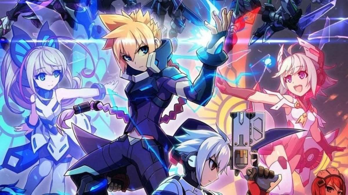 Azure Striker Gunvolt - Um jogo no estilo Megaman de respeito! 5