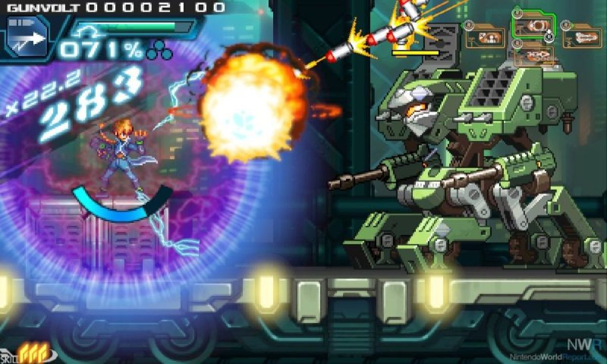 Azure Striker Gunvolt - Um jogo no estilo Megaman de respeito! - gunvolt4 2