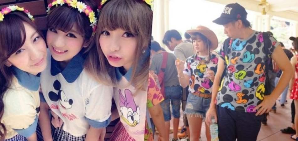 Osoroi – a moda de se vestir igual ou combinando no japão