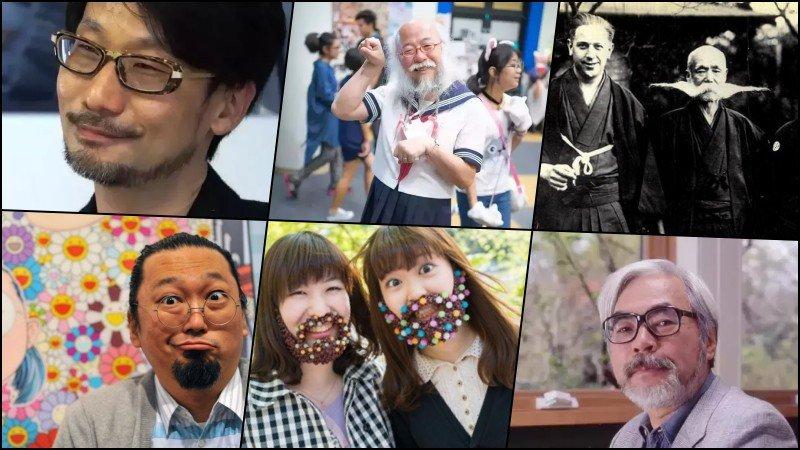 Tại sao người Nhật không có hoặc để râu?