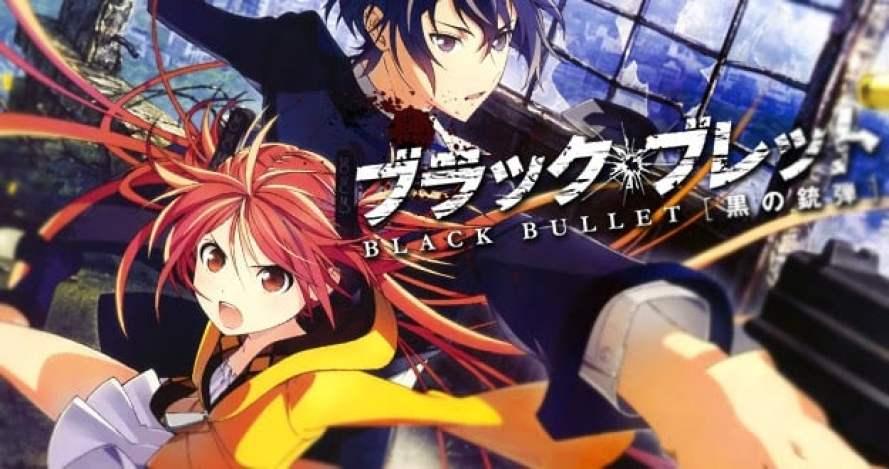 Animes sobre vírus e epidemias - black bullet 1