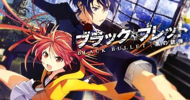 Animes de ação - Melhores animes com lutas e confrontos - black bullet 13