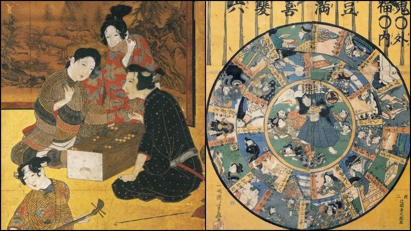 Sugoroku - jogos de tabuleiro de jogar o dado