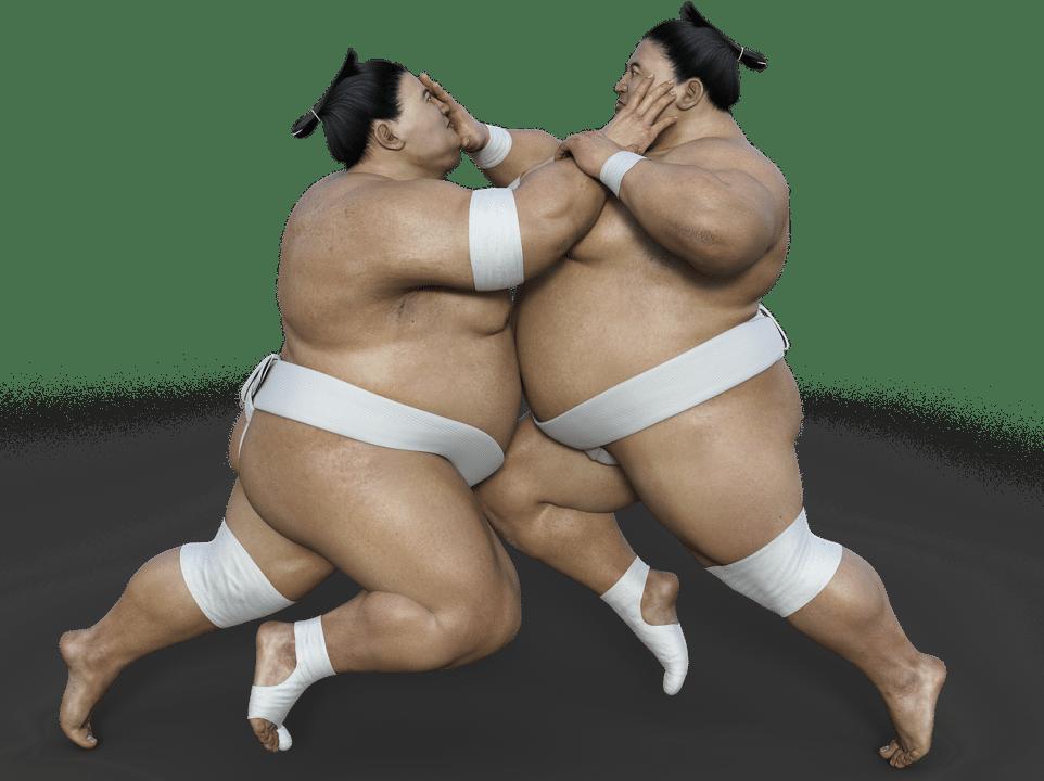 Sumô - A vida dos Lutadores e Curiosidades - sumo luta 3