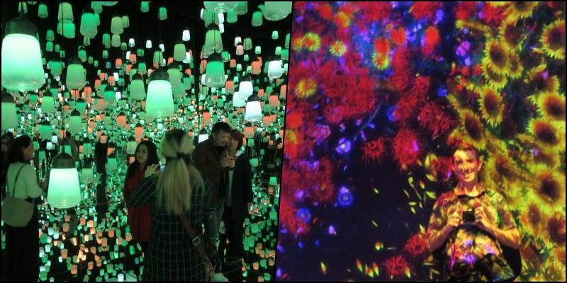 Tienes que visitar el museo de arte digital del edificio mori