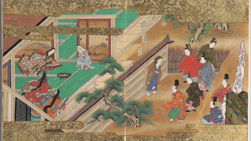 Taketori monogatari - máy cắt tre Kaguya hime