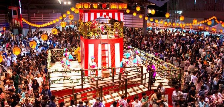 Festival obon - día de muertos en japón