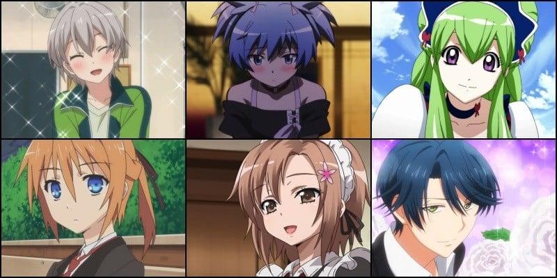 Lista completa de personajes de anime trap