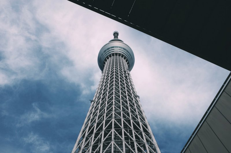 Torres e Arranha-céus de Tokyo e Japão
