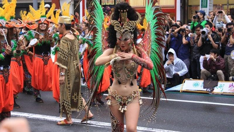 Carnaval no Japão - Asakusa Samba Carnival - desfile japao samba 3