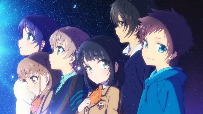 Nagi no asukara - the loving heptagon