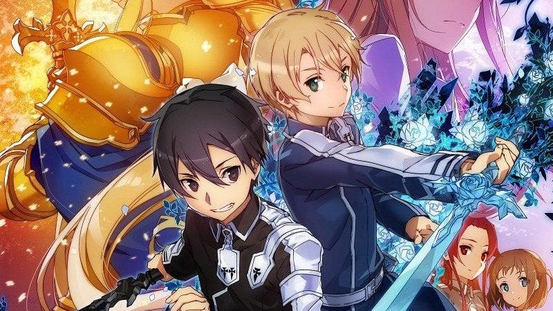 Os 10 animes mais populares da Crunchyroll - sword art online 8