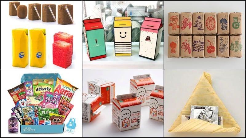 El increíble embalaje práctico de Japón
