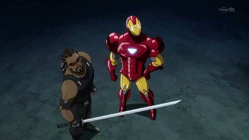 Animes da Marvel e DC - Super Heróis do Ocidente - blade anime 6