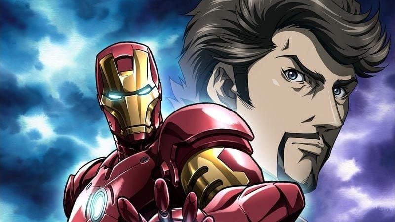 Animes da Marvel e DC - Super Heróis do Ocidente - iron man anime 4
