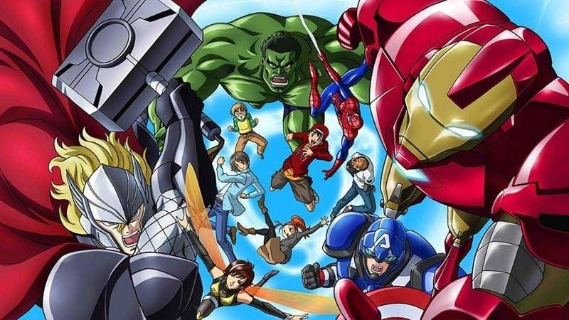 Animes da marvel e dc – super heróis do ocidente