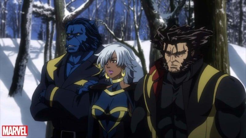 Animes da Marvel e DC - Super Heróis do Ocidente - xman anime 3