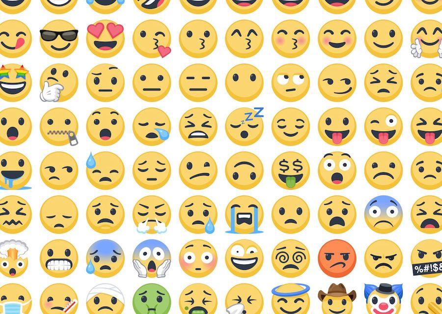 Emojis - De 90 à 2600+ em 20 anos - facebook emoji 2