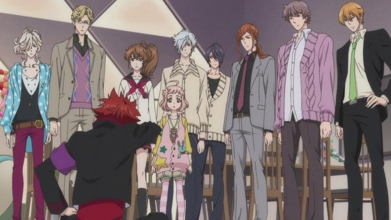 Os Melhores Animes Bishounen + Personagens bonitos - brothers conflits 8