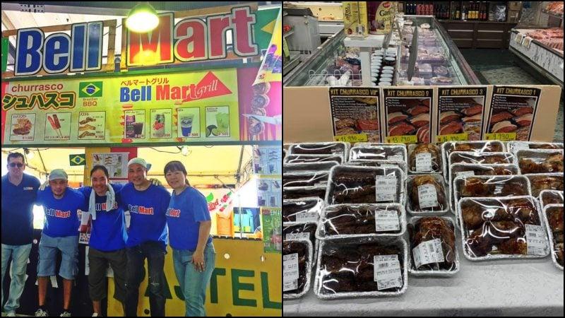 Super mercado brasileiro bell mart no japão